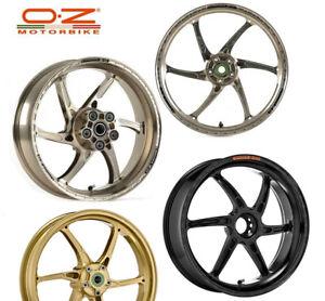 OZ Racing GASS Aluminum Rims Wheels Yamaha YZF R1 YZF1000 1000 R1M R1S R6 FZ10