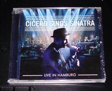 Cicero sings Sinatra Live à Hambourg CD plus vite expédition