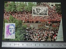 CPA CARTE POSTALE 1er JOUR PHILATELIE 1994 LIBERATION PARIS 1944 LECLERC 2ème DB