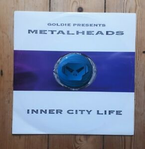 "Goldie presents metalheads Inner City Life 12"" Metalheadz Drum and Base"