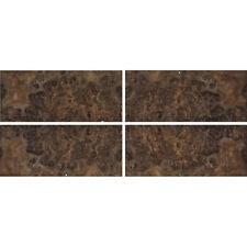 Exotic Walnut Burl Wood Veneer Rawunbacked 4 Pc Pack 16 X 36 Total