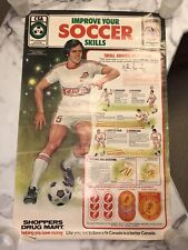 Very Cool Vintage Canadian Soccer Association Poster  - FREE SHIPPING!!!