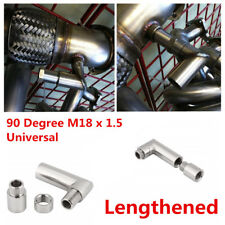 Oxygen Sensor Extender Spacer M18 X 1.5 90 Degree Angled O2 Bung Extender Spacer