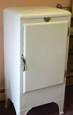 1920's Antique Fridgetaire Refrigerator Great for Magnet Display Refinished