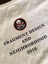 Neighborhood X Fragment Design Exclusive Limited Collaboration Tee Size 3 Large