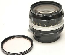 Nikon NIKKOR-H Auto 28mm F3.5 28mm  NON AI Lens - JAPAN