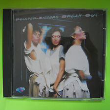 Pointer Sisters Break Out 1.Edition Cd Usa Japan made 1983 Pcd1-4705A. Mint Cd