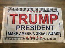100 PRESIDENT TRUMP INAUGURATION FLAG FLAGS MAKE AMERICA GREAT AGAIN  DONALD