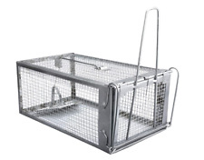 More details for humane rat trap live mouse cage trap indoors outdoors sensitive trigger easy use
