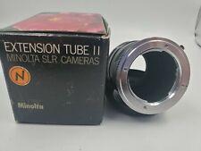 Minolta Extension Tube II for SLR Camera from Japan