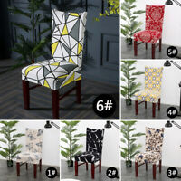 Wedding Banquet Chair Covers Spandex Stretch Seat Slipcovers Dining Room