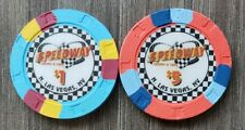 New listing Speedway Casino Las Vegas $1 & $5 House Chips