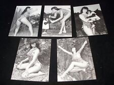 BETTIE PAGE in JUNGLE LAND  Complete Chase Card Set