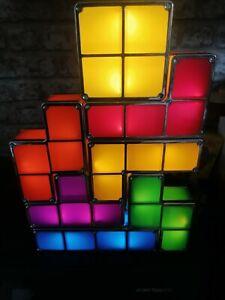 Tetris 7 Piece Light Set With Power Supply