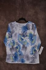 Ladies Alfred Dunner NWT Pullover Top - Size Small - Originally $66.00