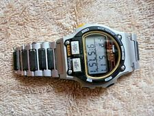COLLECTIBLE Beautiful VIntage TIMEX IRONMAN TRIATHLON 8 LAP LIGHT WATCH