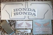 HONDA RC30 VFR750R COMPLETE RESTORATION DECAL SET * NOW IMPROVED!!
