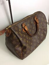Authentic Vintage Louis Vuitton Monogram Speedy 30 Bag. V1883. VGC. Rrp £790