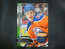 2016-17 Upper Deck UD Parkhurst ROOKIE #384 Jesse Puljujarvi Edmonton Oilers