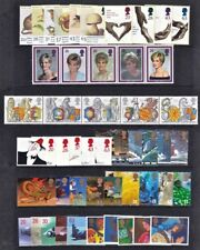 GB GREAT BRITAIN 1998 Commemorative Year, 10 sets Mint NH