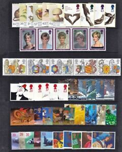 GR. BRITAIN 1998 Commemorative Year, 10 sets Mint NH