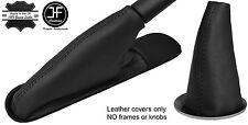 BLACK TOP GRAIN LEATHER GEAR & HANDBRAKE BOOT FOR BMW MINI COOPER R55 R56 R57