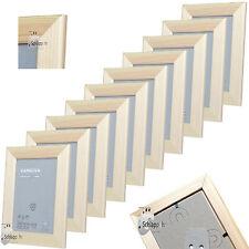 10 Stück Set IKEA VANKIVA Holz Foto Bilderrahmen Kiefer Natur 10 x15 cm. NEU&OVP