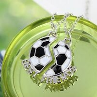 Gift Set Chain Friendship Pendant Jewelry BEST FRIENDS Football Necklace