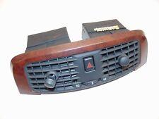 2003-2007 CADILLAC CTS CENTER DASH UPPER AIR VENTS W/HAZARD SWITCH WOOD A/C K2