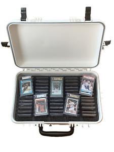 XL Graded Sports Card Case (White) - Holds PSA, BGS, SGC - Precut Foam