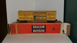 LIONEL # 6356 NYC STOCK CAR  BOXED C-8+ LITTLE RUN TIME