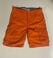 Levi's Kids Boys' Orange Cotton Cargo Shorts Size 5 Retail $40 New