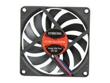 3Pin EverCool EC8025M12CAT 80mm x 25mm Thermal Sensor Fan