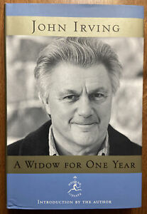 A WIDOW FOR ONE YEAR by John Irving Signed Modern Library Hardcover w/ DJ VG/VG