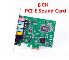 PCI Express PCI-E 7.1 Bundle Deal 24-bit 7.1 PCI-e  3D Sound Audio Card Karaoke