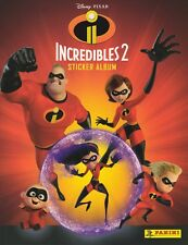 50 Random Different Panini INCREDIBLES 2 MOVIE Collection stickers