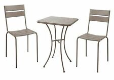 Sicile 2 places Imperméable Jardin Patio Set-Taupe