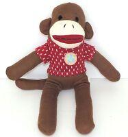 Dan Dee Sock Monkey Dog Toy