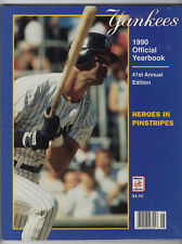 New York Yankees 1990 Official Yearbook
