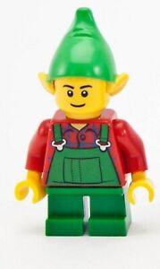 LEGO Santa's Workshop Elf Elve Minifigure From Set 10245
