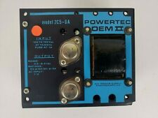 Powertec OEM II 2C5-6A Power Supply Input 115V Output 5V @ 6A