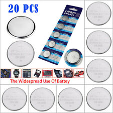 20 PCS CR2016 Battery 3V Button Cell for Calculator Scale Remote Watch