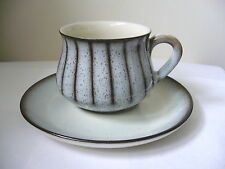 DENBY - STUDIO - 1 X TEA CUP & SAUCER - 2ND QUALITY - VERY GOOD USED CONDITION*q
