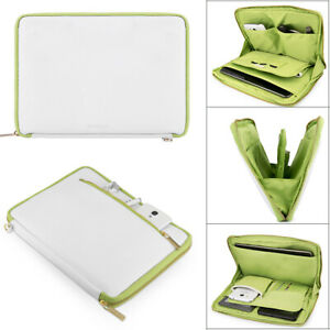 """VanGoddy Leather Tablet Sleeve Pouch Case Zip Bag For 11"""" Samsung Galaxy Tab S7"""