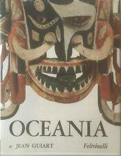 :-) Jean Guiart - Oceania / Collana Il Mondo della Figura   [Feltrinelli, 1963]