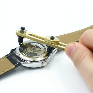 Adjustable Opener Watch Tool Remover Back Case Wrench Cover Watchmaker Repair