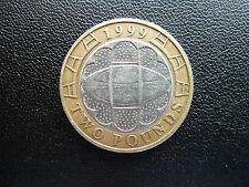 Moneda de 2 € - Dos Libras Moneda-Raro Error De Menta - 666 (Diablo) 999 (policía) - Copa Mundial de rugby