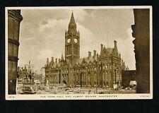 Lancashire MANCHESTER Town Hall Albert Sq 1957 Tuck MH54 PPC