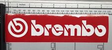Brembo Racing STICKER Motorbike Car Bike Road Project Brake Oil Parts Custom