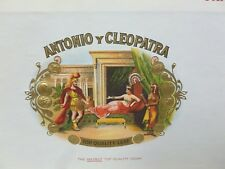 Vintage Antonio y Cleopatra 50 Panetelas Claro Light -  Empty Cigar Box